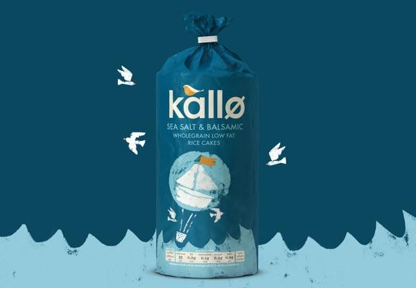 Kallo Rice Cake Branding By Big Fish