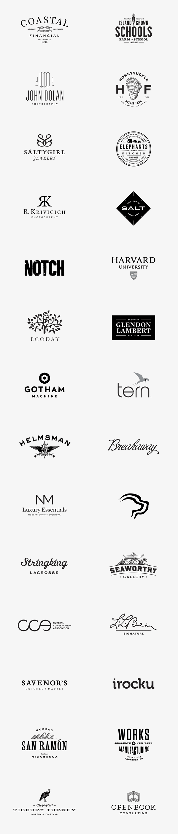Logos and Logotypes by Bluerock Design
