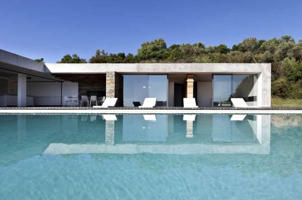 Luxury Plane House by K Studio