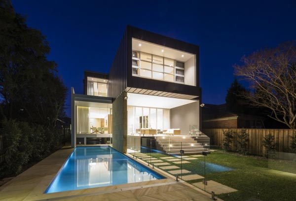 box house in sydney australia by zouk architects. Black Bedroom Furniture Sets. Home Design Ideas