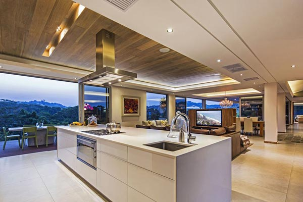 modern kitchen designs in south africa the albizia house in south africa by metropole architects 590