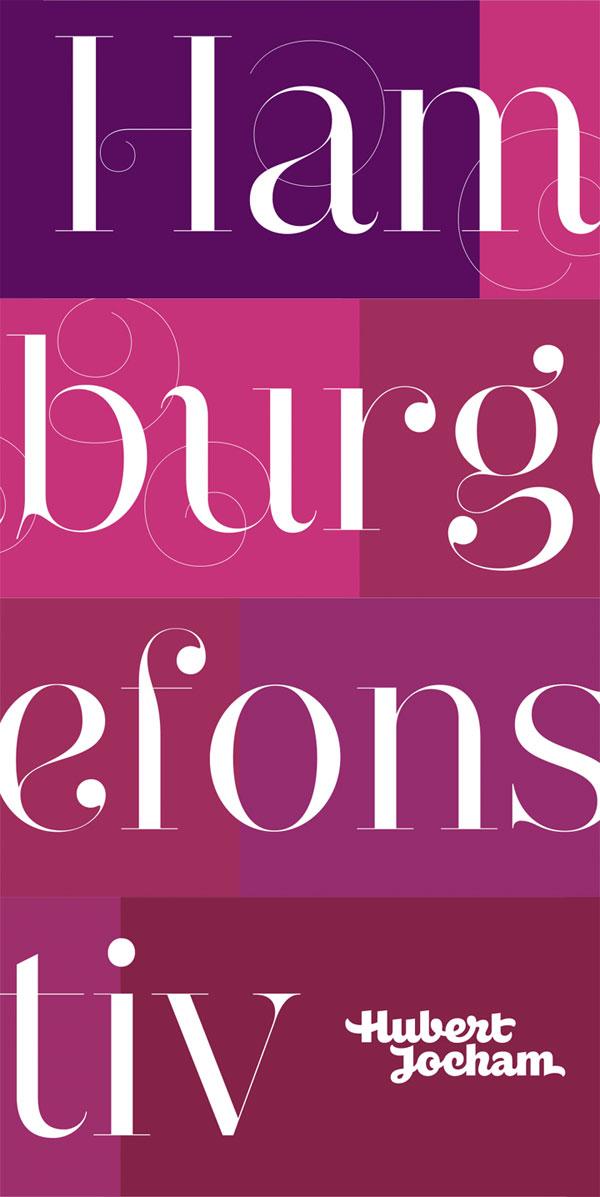 Narziss Neoclassic Font Family by Hubert Jocham