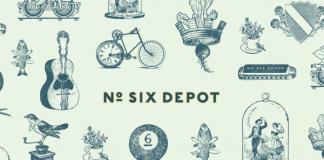 No. Six Depot Brand Identity by Perky Bros llc