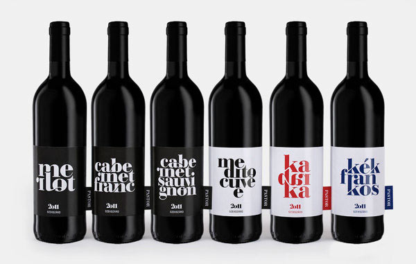 Pastor Winery -Bottles Packaging Design by kissmiklos