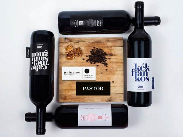 Pastor Winery - Visual Identity by kissmiklos