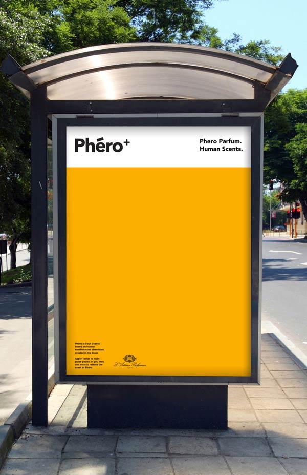 Phéro+ Billboard Design