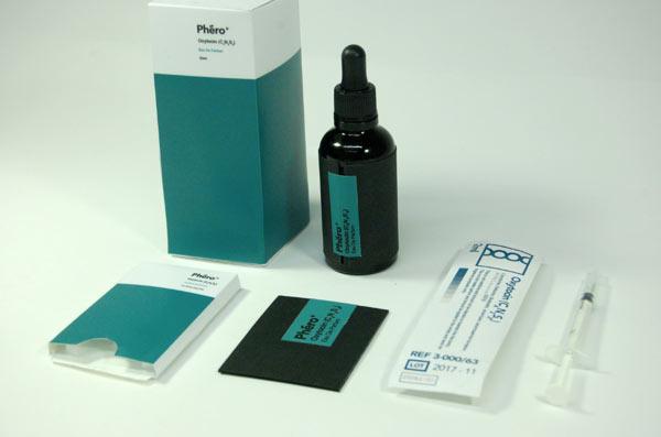 Phéro+ Niche Perfume Packaging Design
