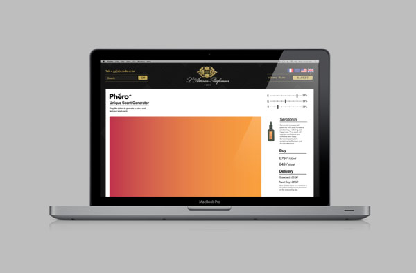 Phéro+ Website