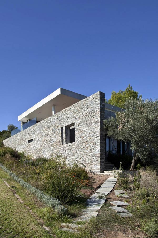 Plane House Architecture by K Studio