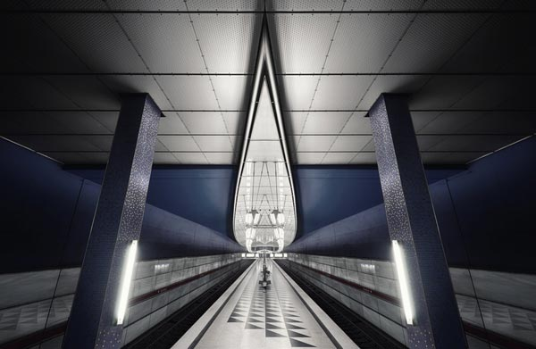 Subway - Munich Underground Photography by Nick Frank