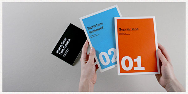 Supria Sans examples of use