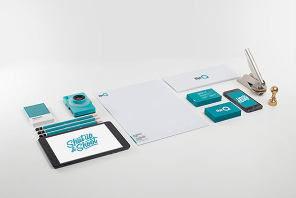 TheQ social camera - Corporate Identity