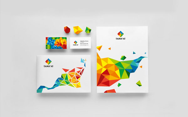 Tsukor 3D Brand Identity by Happy Design