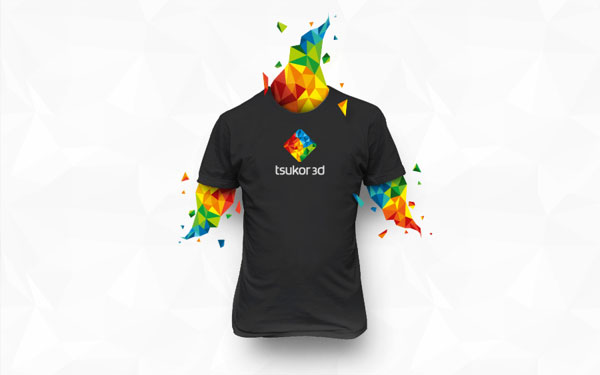 Tsukor 3D T-Shirt Design by Happy Design