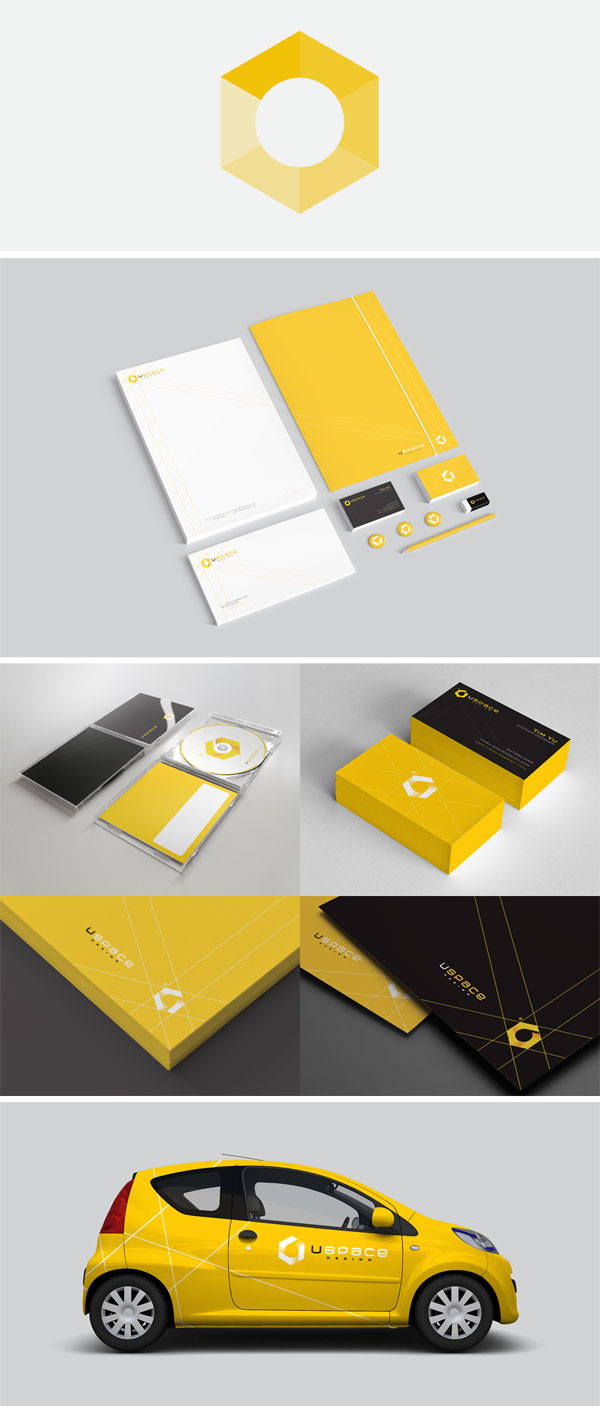 space design corporate identity by triptic