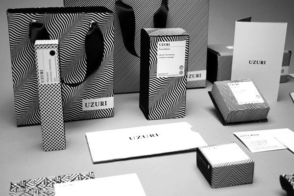 uzuri  u2013 packaging for classic and seasonal makeup collections