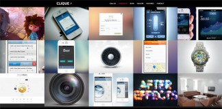 Clique - AJAX Responsive Portfolio WordPress Theme
