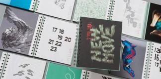 "EIGA Trend Diary ""New Move"" - Design Calendar 2014"