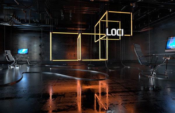 LOCI Studio Identity
