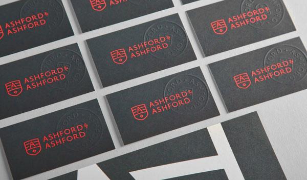Ashford & Ashford Corporate Identity by Studio Ghost