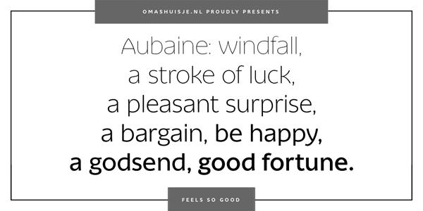 Aubaine Elegant and Modern Font Family