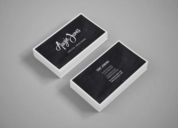 Augie Jones Business Card Design by Mijan Patterson