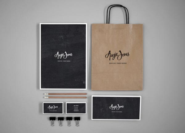 Augie Jones Corporate Design by Mijan Patterson
