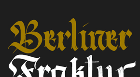 Berliner Fraktur Font Family by Resistenza