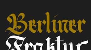Berliner Fraktur Font Family by Resistenza