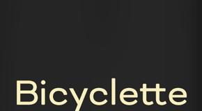 Bicyclette sans-serif font family by Nikola Kostić