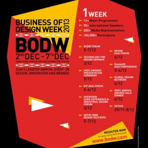 Business of Design Week (BODW) 2013