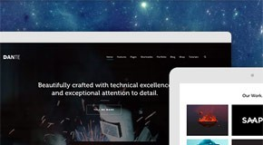 Dante - A Responsive Multi-Purpose WordPress Theme by SwiftIdeas