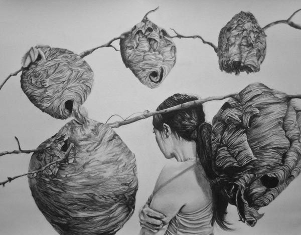 Drawing by Hannah Scott