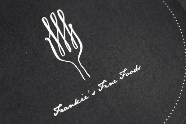 Frankie's Fine Foods Logo Design by Yerevan Dilanchian