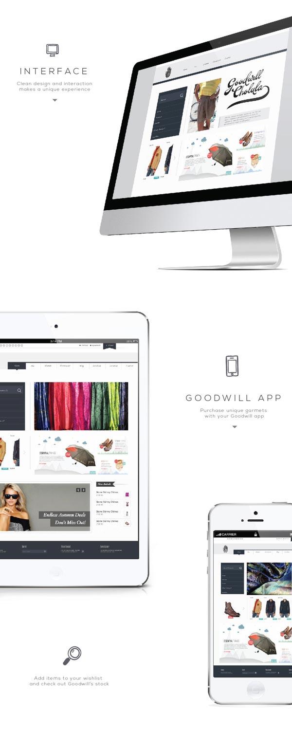 Goodwill – India Inspired Visual Identity by Diego Leyva
