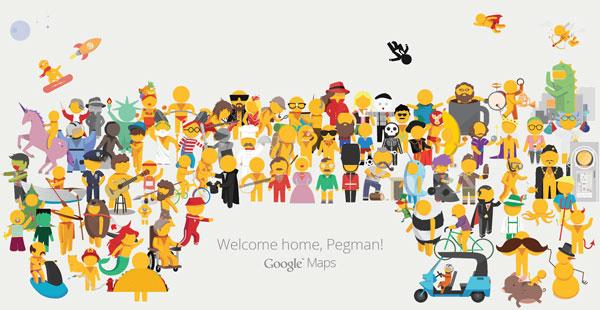 Google Street View – Pegman Redesign by Matt Delbridge I B-Reel