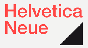 Helvetica Neue Sans Serif Font Family by Linotype