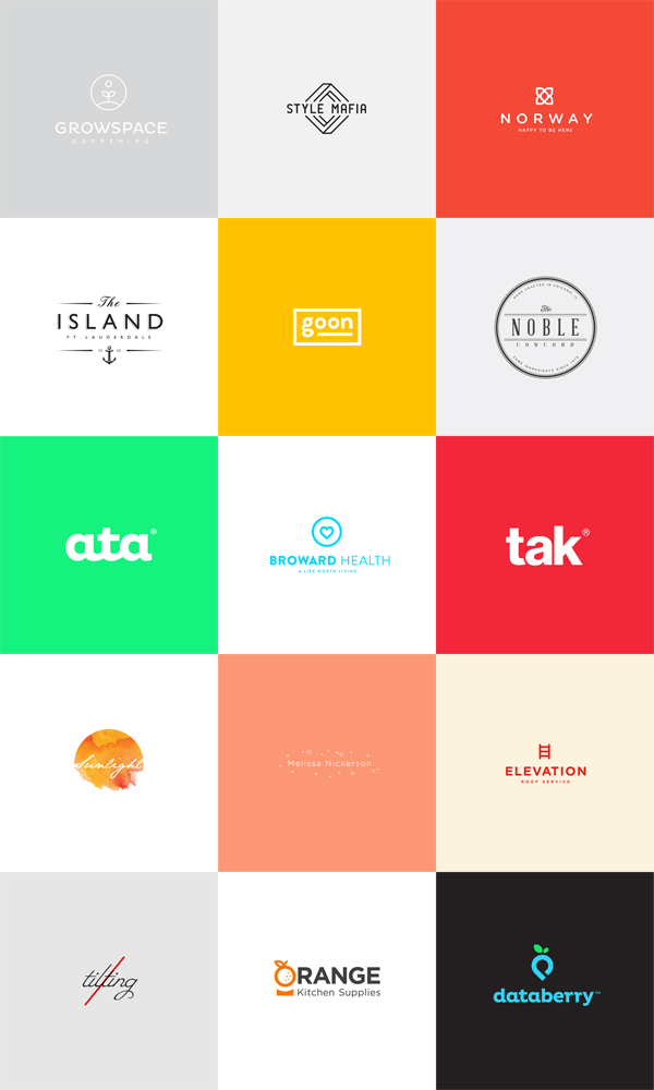 Logo Design Collection by Brandon Nickerson