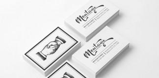 Montagü Business Cards