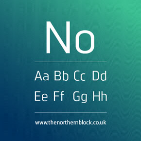 Norpeth humanist font family by the northern block.