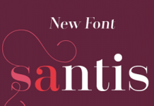 Santis font family by Latinotype