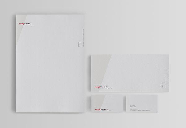 Simple Stationery Design by Jose Palomero