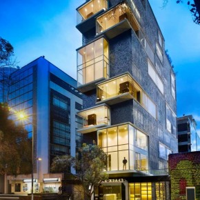 The Click Clack Hotel in Bogota, Colombia by plan:B Arquitectos and Perceptual Studio