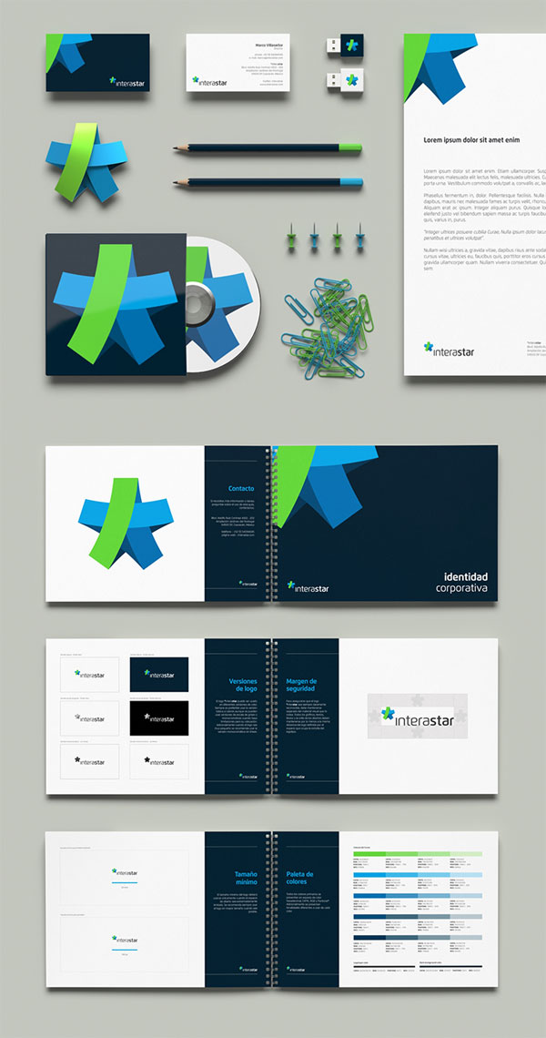 *interastar - Brand Identity by Necon