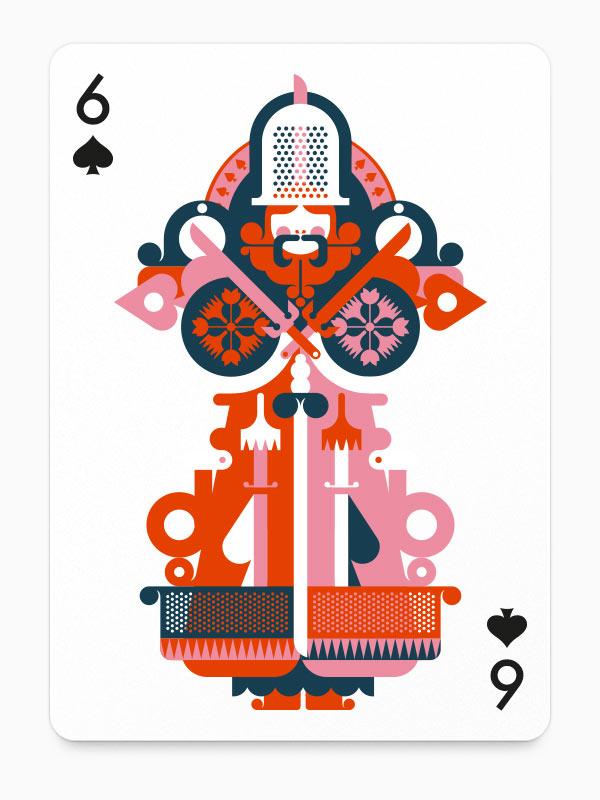 6 of Spades by Fernando Volken Togni