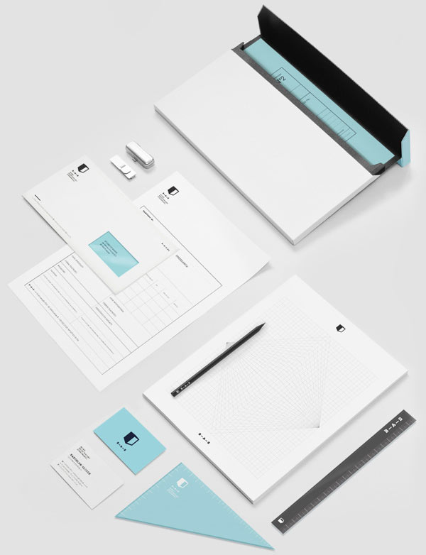 Architecture Bureau Corporate Identity by Studio Otwarte