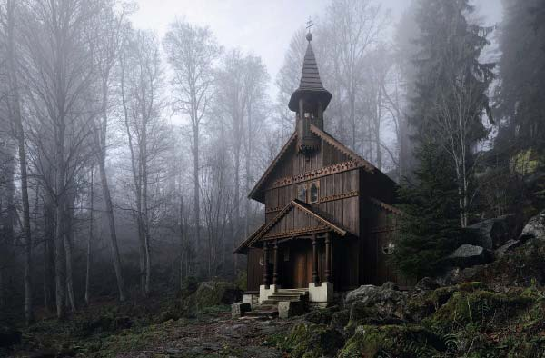 Brothers Grimm Homeland - Photographic Illustration by Kilian Schönberger