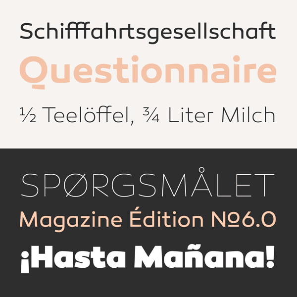 Canaro - Modern Typeface