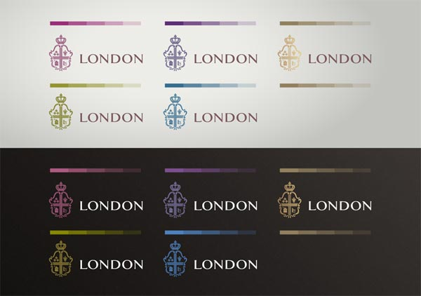 Coffee House London - Logotype Color Versions by Reynolds and Reyner