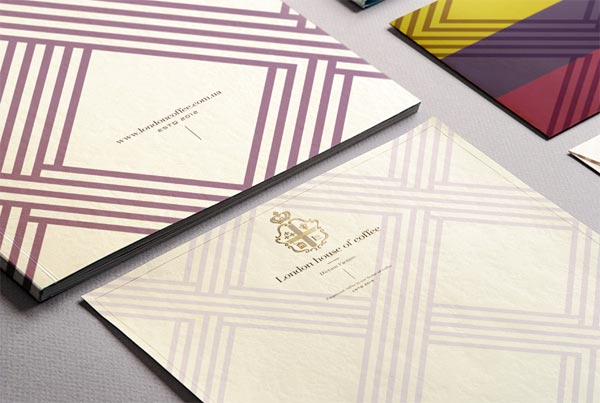 Coffee House London - Stationery Design by Reynolds and Reyner